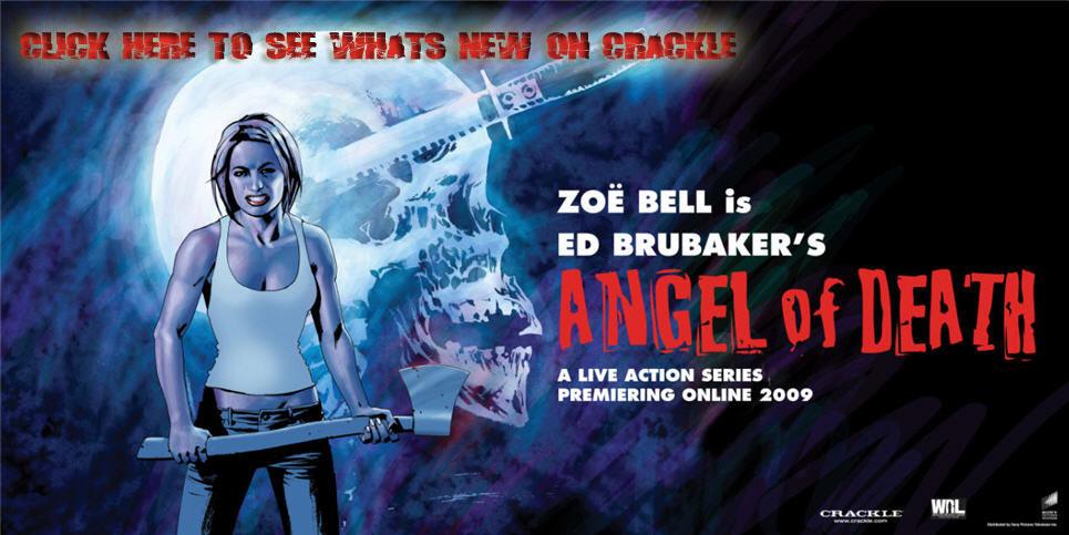 Zoe Bell in Crackle's Angel of Death series