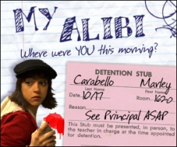 My Alibi on take180.com