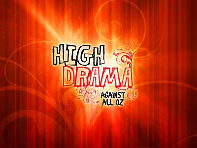 High Drama: Against All Oz - logo