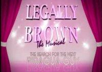 Legally Brown web series logo