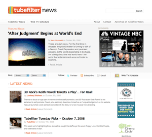 Tubefilter Gets a New Look