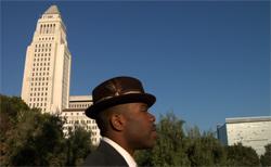 Eddie Black in Downtown LA