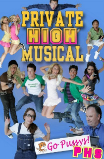 Private High Musical Poster -tf