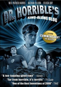 Dr. Horrible's Sing-Along Blog DVD on Amazon