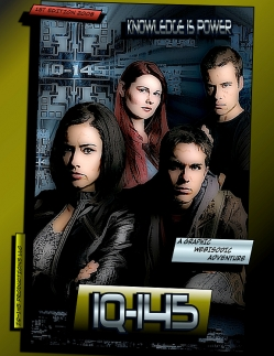 IQ-145 web series - graphic novel
