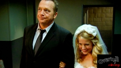 Tom Arnold and Allison Munn in Overkill