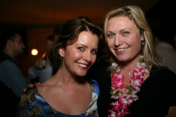 Taryn O'Neill and Tosca Musk