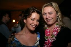 Taryn O'Neill and Tosca Musk