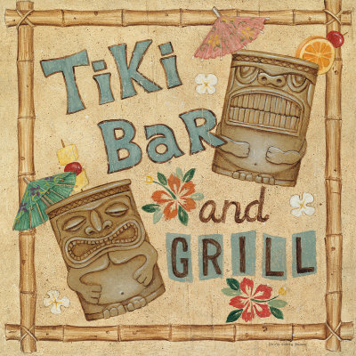 Tiki Bar posters