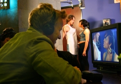 A.D. Miles directing Hot Sluts Rated R