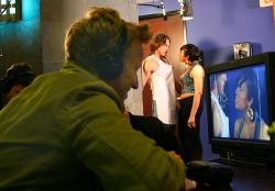 A.D. Miles directing Hot Sluts Rated R