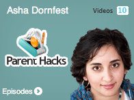 Asha Dornfest from Parent Hacks