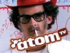 AtomTV logo - Fender Bender Strausen