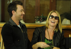 David Faustino and Christina Applegate in Star-ving