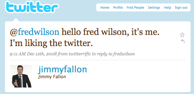 Fallon on Twitter