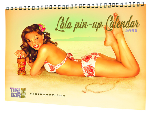 LaLa's pinup calendar Tubefilter: Do you sustain your lives full-time