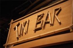 Tiki Bar TV sign