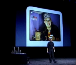 Tiki Bar TV at the October 2005 Jobs keynote
