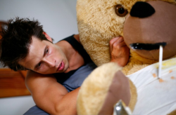 charlie the abusive teddy bear