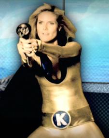 Heidi Klum in Spiked Heel