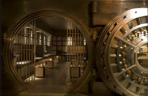 Superior Underground Safes #3: Bank-vault-door.jpg | House Plans