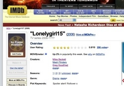 lonelygirl15 on IMDb