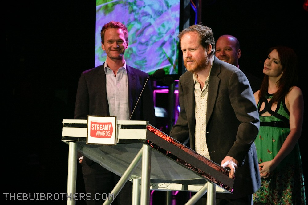 Joss Whedon at the Streamy Awards