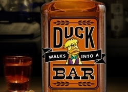 Duck Walk Into A Bar