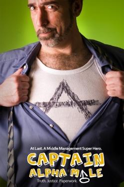 Captain Alpha Male - poster