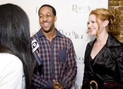Jaleel White at Road to the Altar Premiere