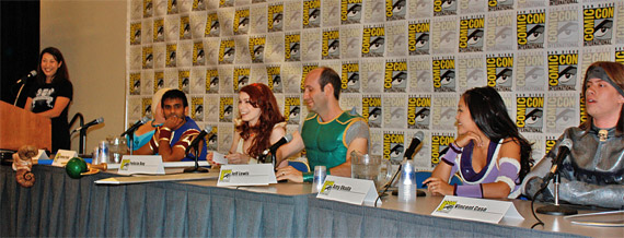 The Cast of The Guild at Comic-Con 2009