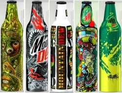 Mountain Dew - Green Label Art