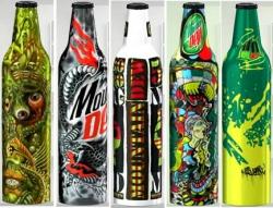 Mountain Dew - Green Label Art
