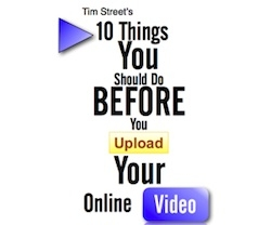 10 Things You Should Do Before You Upload Your Web Video