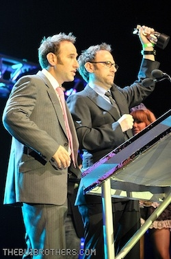 The Sklar Brothers at The Streamy Awards 2009