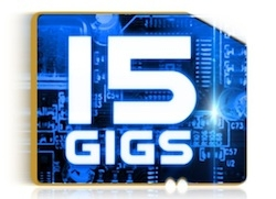 15 Gigs
