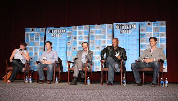 FIND's FIlmmaker Forum panel
