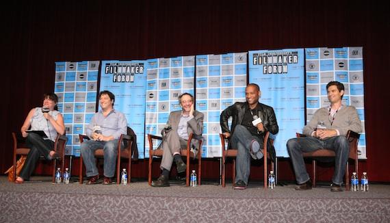 FIND's FIlmmaker Forum panel
