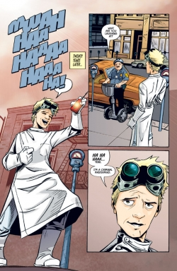Dr. Horrible comic