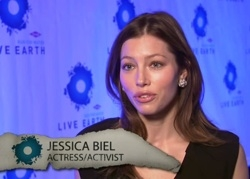 Jessica Biel - Live Earth TV