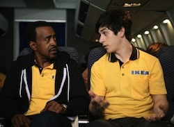 Tim Meadows and David Henrie