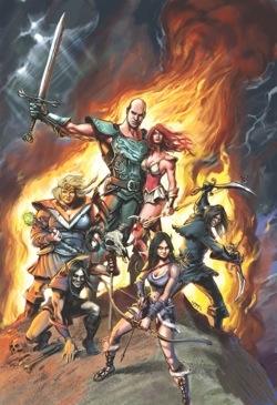 The Guild - Comic Book