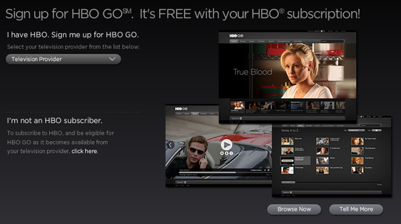 HBO Go Screen