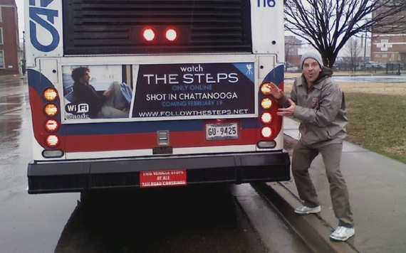 The Steps - bus ad