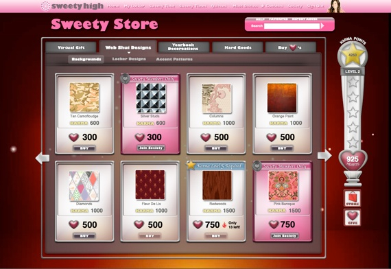 Sweety Store