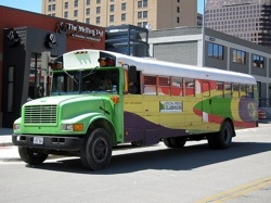 SXSW Social Media Clubhouse Bus