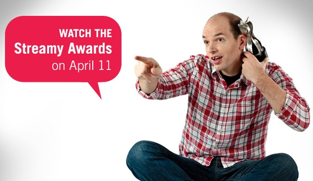Watch the Streamys - Paul Scheer