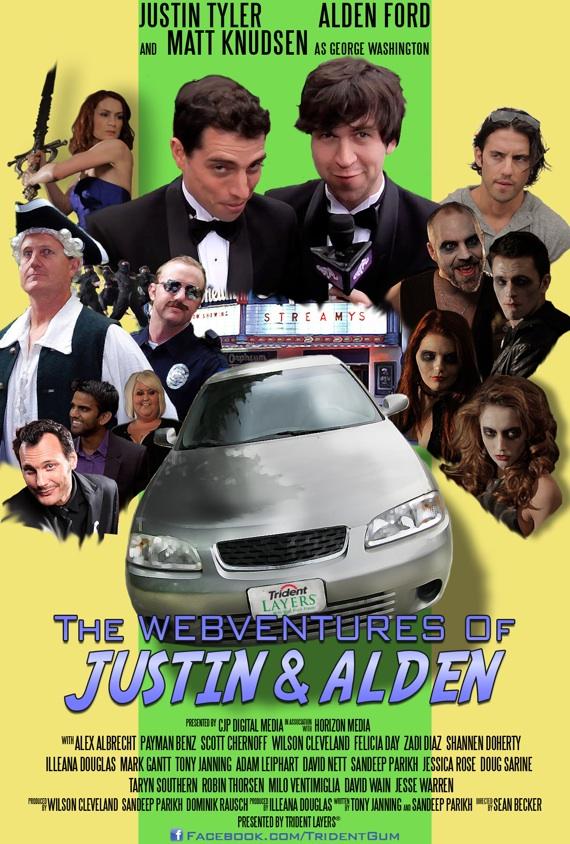 Webventures of Justin & Alden poster