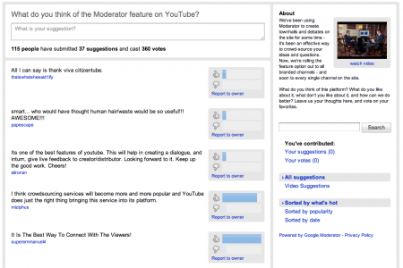 Moderator on CitizenTube