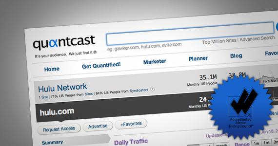 Quantcast Lands MRC Accreditation